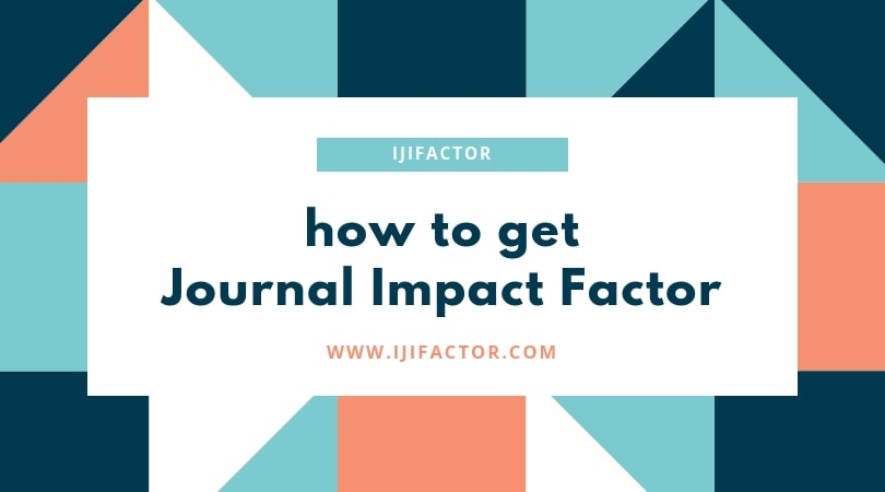 how to get journal impact factor